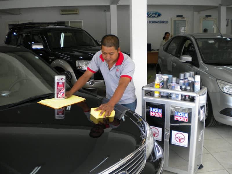 Dịch vụ chăm sóc xe ô tô Đà Lạt
